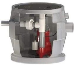 """4/10 HP Residential Simplex Sewage Package w/ 2"""" Side Discharge - 115v Product Image"""