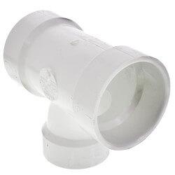 "2"" x 2"" x 1-1/2"" PVC DWV Sanitary Tee Product Image"