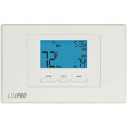 LuxPro Programmable Thermostat 5/2 Programming (2 Heat - 1 Cool) Product Image
