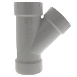 """3"""" PVC DWV Wye Product Image"""