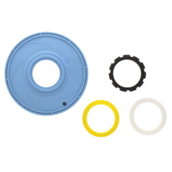 AquaFlush TPE<br>Diaphragm Replacement with Flow-Rings Product Image