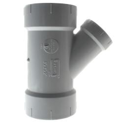 "3"" x 3"" x 2""<br>PVC DWV Wye Product Image"
