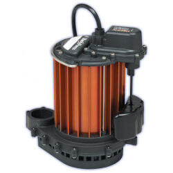1/3 HP Model PC-237<br>115V Poly/Alum. Auto Sump Pump Combo, 12V Product Image