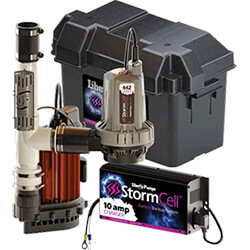 Model S37 Stormcell Sump Pump Combo Series (1/3 HP, 115V, 6.2A) Product Image