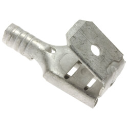 "1/4"" Tab Non-Insulated Piggyback Terminal - 16-14 AWG (Blister Pack of 9) Product Image"
