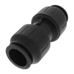"PEI0428E PEX Coupler,<br>3/4"" CTS, Black Product Image"