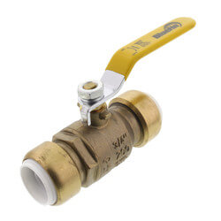 "3/4"" Push Fit Ball Valve (Lead Free) Product Image"