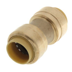 "1/2"" Push Fit Coupling (Lead Free) Product Image"
