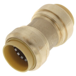 "3/4"" Push Fit Coupling (Lead Free) Product Image"