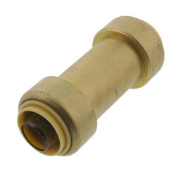 """3/4"""" Push Fit In-Line Check Valve (Lead Free) Product Image"""
