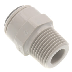 """3/8"""" OD x 3/8"""" NPTF Male Adapter Product Image"""