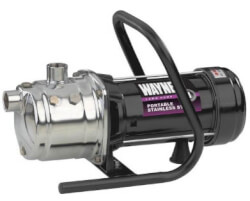 PLS100 1 HP Portable Stainless Steel Lawn Pump Product Image