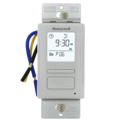 EconoSwitch 7-Day Prog. Wall Switch w/ Solar Timetable (White) Product Image