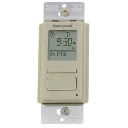 EconoSwitch 7-Day Prog. Wall Switch w/ Solar Timetable (Almond) Product Image