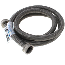 "3/4"" x 5' Stainless Steel Braided Washing Machine Connector (Lead Free) Product Image"