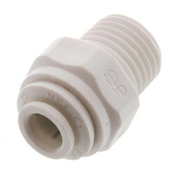 "1/4"" Tube OD x 1/4"" NPTF Male Connector Product Image"