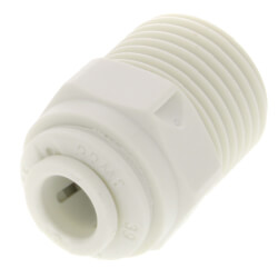 "1/4"" OD x 3/8"" NPTF Male Adapter (Single-Pack) Product Image"