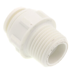 "1/2"" OD x 1/2"" NPTF Male Connector Product Image"