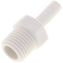 "1/4"" x 1/4"" NPTF Stem Adapter (Polypropylene) Product Image"