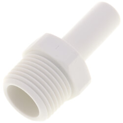 "3/8"" x 3/8"" NPTF Stem Adapter (Polypropylene) Product Image"