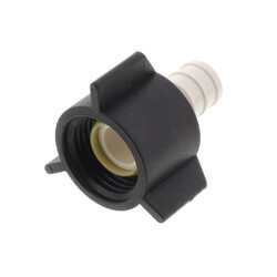 """1/2"""" PEX x 1/2"""" FPT PolyAlloy Crimp<br>Swivel Adapter Product Image"""