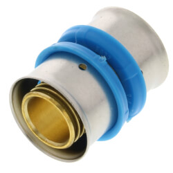 "3/4"" PEX Press Coupling w/ Sleeve (Lead Free) Product Image"