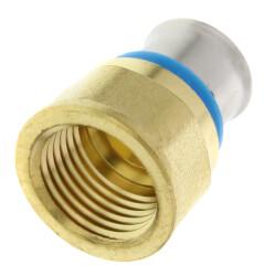 "1/2"" PEX Press Female Adapter w/ Sleeve (Lead Free) Product Image"