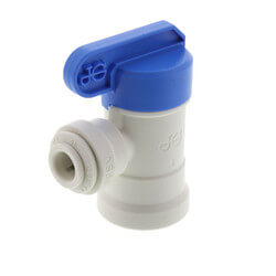 "1/4"" Tube OD x 1/4"" Elbow Shutoff Valve Product Image"