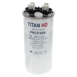 35 MFD Round Motor<br>Run Capacitor (440/370V) Product Image