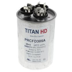 30/5 MFD Round Dual Motor Run Capacitor (440/370V) Product Image