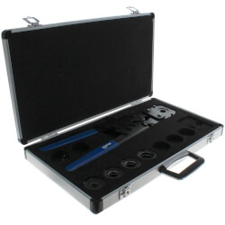 "15"" Multi-Jaw (3/8""-1"") Pex Press-All Tool Kit w/ Aluminum Case Product Image"