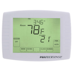 PerfectSense Digital 7 Day Programmable Thermostat (3 Heat/2 Cool) Product Image