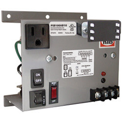 Panel Mount Single 100VA Power Supply, 120 Vac to 24 Vac Product Image