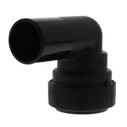 """1"""" CTS ProLock Plug In Elbow Product Image"""