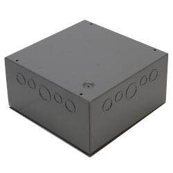 Enclosed Single 500VA Power Supply w/ 5 100VA Class 2 Outputs, 480/277/240/120 Vac to 24 Vac Product Image
