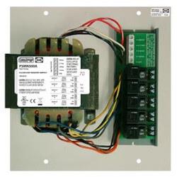 Track Mount Single 500VA Power Supply w/ 5 - 100VA Class 2 Outputs Product Image