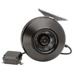 """PV-POWERVENT 5"""" Centrifugal Duct Fan (115V, 2745 RPM, 85W) Product Image"""