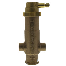 "3/4"" Sweat Supervent<br>Air Eliminator Product Image"