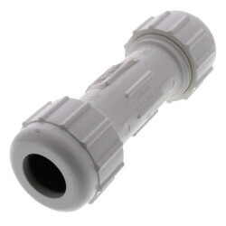 "1/2"" PVC Compression Coupling Product Image"