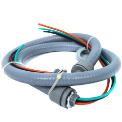 """1/2"""" X 6' Whip with Non-Metallic Fitting Product Image"""