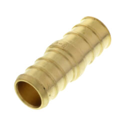 "1/2"" PEX x 1/2"" PEX Brass Coupling (Lead Free) Product Image"