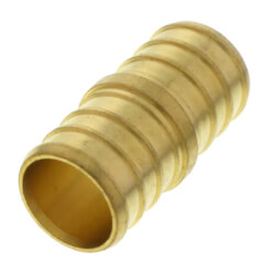 "3/4"" PEX x 3/4"" PEX Brass Coupling (Lead Free) Product Image"