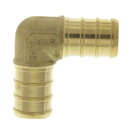 "1/2"" PEX x 1/2"" PEX Brass Elbow (Lead Free) Product Image"