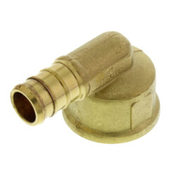 "1/2"" PEX x FNPT Threaded Elbow (Lead Free) Product Image"