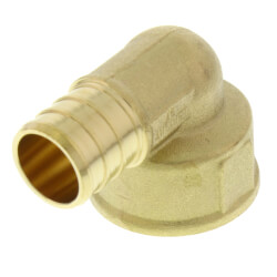 "3/4"" PEX x FNPT Threaded Elbow (Lead Free) Product Image"