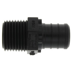 "3/4"" Poly PEX Crimp x 1/2"" NPT Male Adapter Product Image"