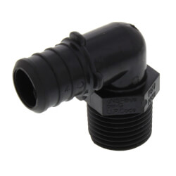 "3/4"" Poly PEX Crimp x 1/2"" NPT Elbow Product Image"
