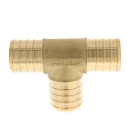 "1"" PEX Brass Tee (Lead Free) Product Image"