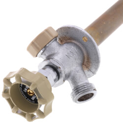 """8"""", 1/2"""" MPT x 1/2"""" Sweat - Anti-Siphon Ball Valve Frost-Proof Sillcock w/ 1/4 Turn Product Image"""