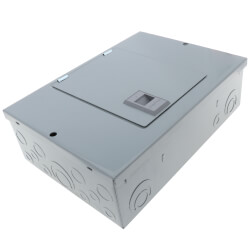 QO 12 Circuit Indoor Main Lug Load Center, 6 Space, 120/240V, Surface Mount(100A) Product Image